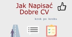 Jak Napisać Dobre CV krok po kroku [Infografika]